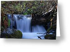 Small Falls Greeting Card