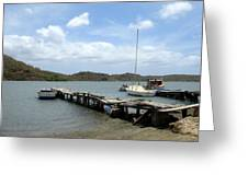 Small Harbour Greeting Card