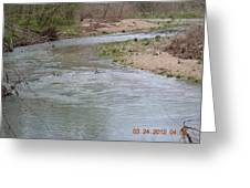 Small Rapids Greeting Card