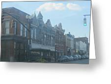 Small Town Proper Greeting Card