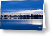 Small Town Reflections Greeting Card