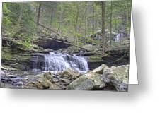 Small Waterfall Greeting Card