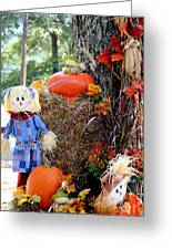 Smile It's Autumn Greeting Card