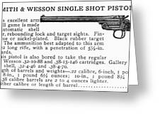 Smith & Wesson Pistol Greeting Card