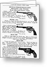 Smith & Wesson Revolvers Greeting Card