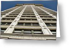 Smith Tower Greeting Card
