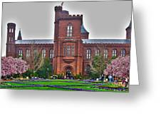 Smithsonian Castle Greeting Card