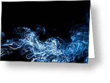 Smoke 7 Greeting Card