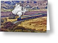 Smoke In The Valley Greeting Card
