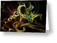 Smoke Rings Greeting Card