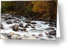 Smokey Water Greeting Card