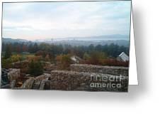 Smoky Mountain Overlook Greeting Card