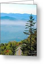 Smoky Mountain View Greeting Card