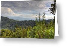Smoky Mountain View Greeting Card