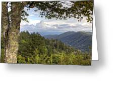 Smoky Mountain Vista Greeting Card