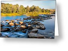 Smooth Rapids Greeting Card