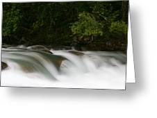 Smooth Water Greeting Card