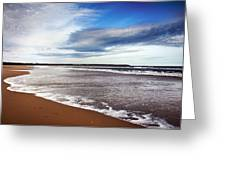 Smooth Wave Greeting Card