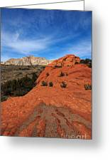 Snow Canyon 1 Greeting Card