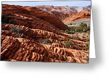 Snow Canyon 2 Greeting Card