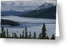 Snow-capped Moutains Rise Greeting Card