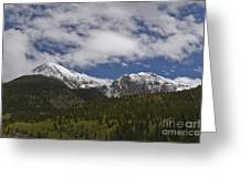 Snow Capped San Juans Greeting Card