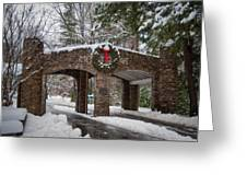 Snow Gate  Greeting Card