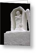 Snow Mummy Greeting Card