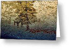 Snow On My Window Greeting Card