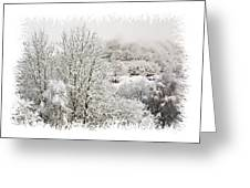 Snow Scene 1 Greeting Card