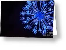 Snowflake Sparkle Greeting Card