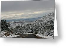 Snowy Mountain #2 Greeting Card