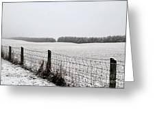 Snowyfence Greeting Card