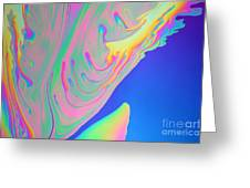 Soap Film Greeting Card