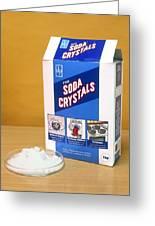 Soda Crystals Greeting Card