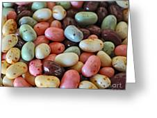 Soda Fountain Jelly Bellies Greeting Card