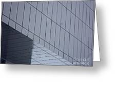 Soft Gray Glass Greeting Card