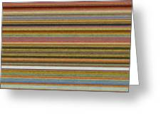 Soft Stripes L Greeting Card
