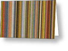 Soft Stripes Ll Greeting Card