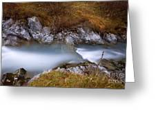 Soft Waters Greeting Card