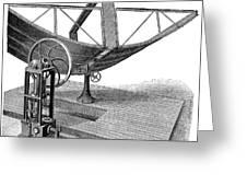 Solar Engine, 1884 Greeting Card