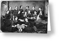 Soldiers Aid Society, 1863 Greeting Card