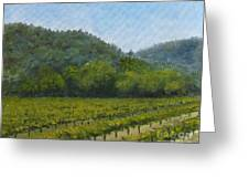 Solis Winery Greeting Card