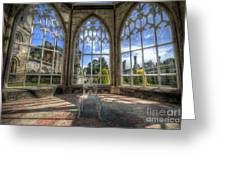 Solitary Conservatory Greeting Card