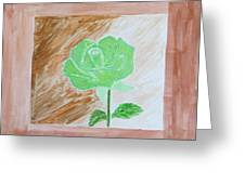 Solitary Rose Greeting Card
