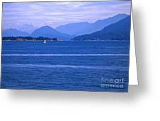 Solitary Sailing Greeting Card