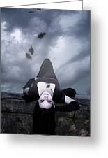 Solitude Of A Vampire Greeting Card
