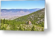 Solitude With A View - Carson City Nevada Greeting Card