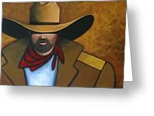Solo Cowboy Greeting Card