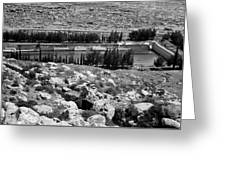 Solomon's Pools 1939 Greeting Card